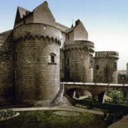 The castle where Anne of Brittany was born