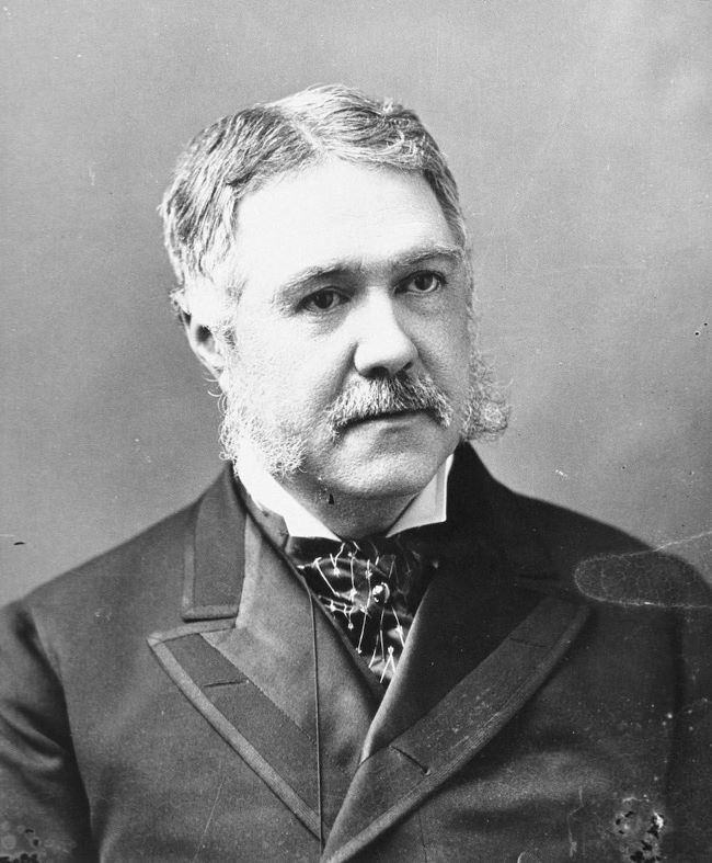 Twenty-first President Chester Arthur