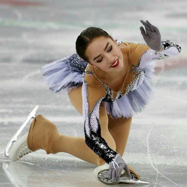 Well known Alina Zagitova