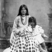 Wife and child of Geronimo