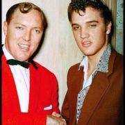 Elvis Presley and Bill Haley