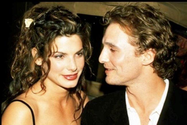 Matthew McConaughey and Sandra Bullock