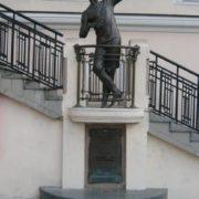 Monument to Utochkin in Odessa