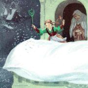 Mother Snowstorm. Illustration by V.N. Minaev