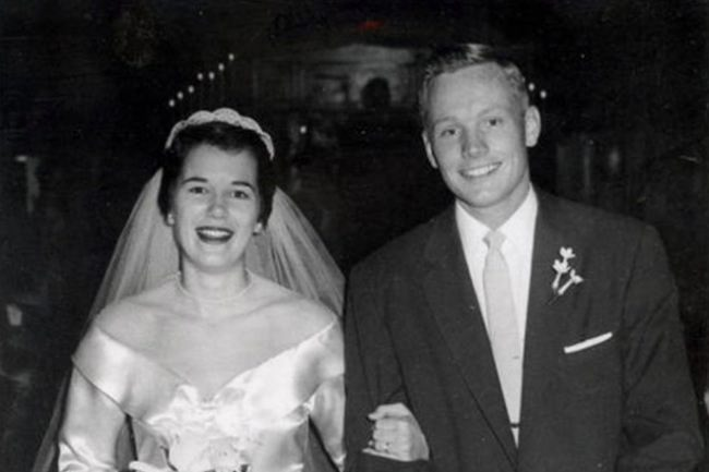 Neil Armstrong and his wife