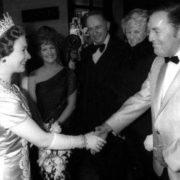 Queen Elizabeth II and Bill Haley