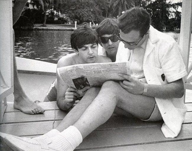 Stunning Beatles and Brian Epstein