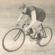 Utochkin is riding a bike