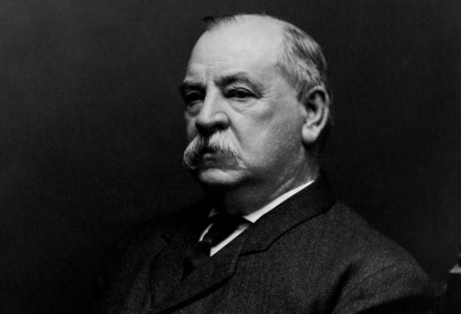 Well known Grover Cleveland
