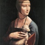 Lady with an Ermine. Portrait of Cecilia Gallerani. 1490