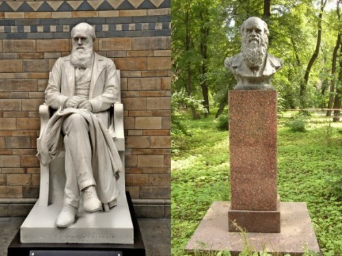 Monuments to Darwin