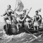 The Landing of Columbus at San Salvador, October 12, 1492