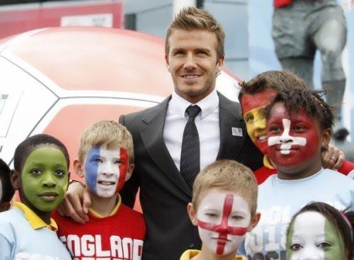 Beckham – successful football player
