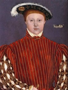 Portrait of King Edward VI, Prince of Wales, the only surviving son of Henry VIII