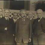 Einstein, Albert A. Michelson, Robert Andrews Milliken. 1931