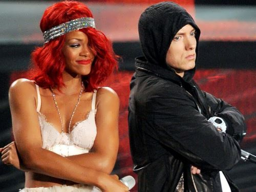 Eminem and Rihanna