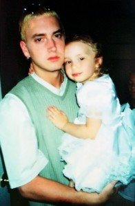 Em and his daughter