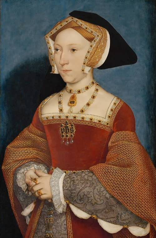 3. Jane Seymour by Hans Holbein
