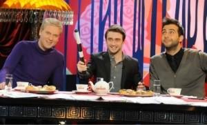 Sergei Svetlakov, Daniel and Ivan Urgant. Prozhektorperishilton