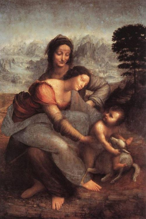 Saint Anne with Mary and the Christ child. 1510