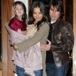 Tom, Katie Holmes and their daughter Suri