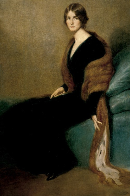 Manuel Benedito Vives, Portrait of Cleo, 1910