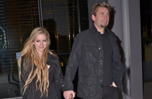 Avril and Chad Kruger