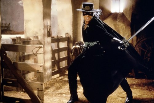 Banderas in The mask of Zorro, 1998