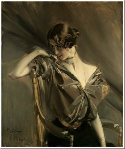 Giovanni Boldini. Portrait of Cleo de Merode, 1901
