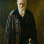 John Collier. Portrait of Darwin