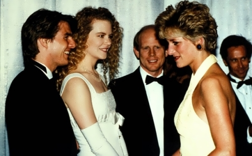 Tom, Nicole Kidman and Princess Diana