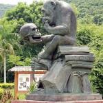 Funny monument