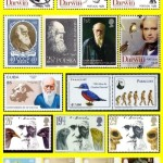 Ch. Darwin. Stamps