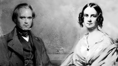 Darwin and his wife