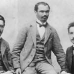 Einstein with friends, 1903