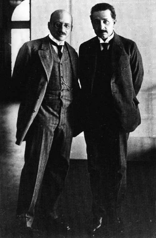 Einstein and Fritz Haber, 1914