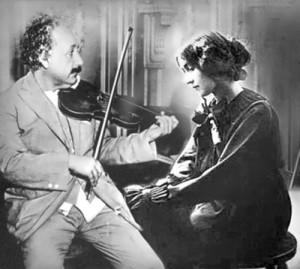 Einstein and Margarita Konenkova