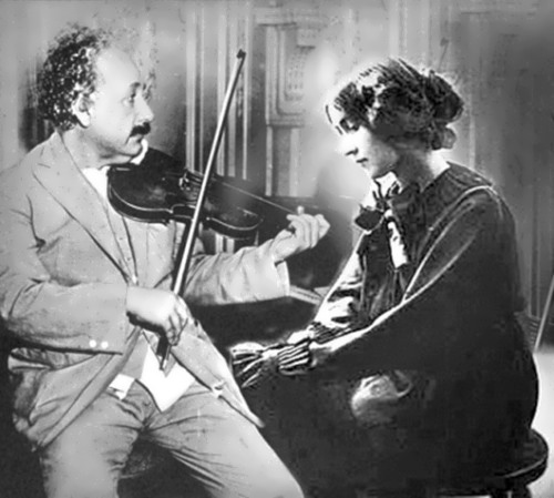 Einstein and Margarita Konenkova