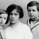 Mileva and their sons, Hans Albert and Eduard