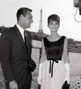 Hepburn and William Holden