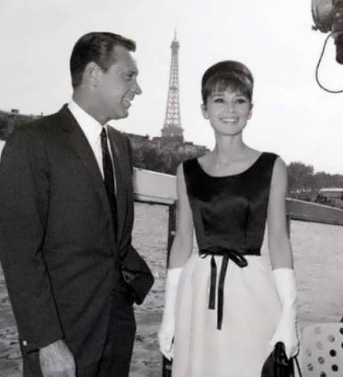 Hepburn and William Holden