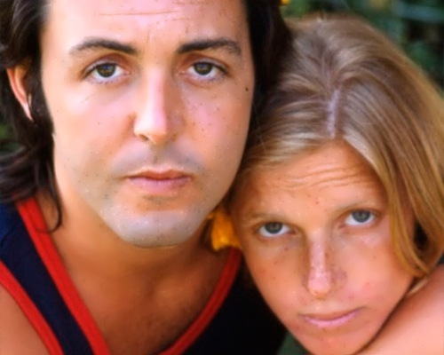 Paul and Linda Eastman