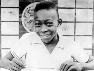 Pele in his childhood