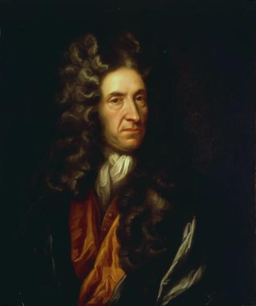 Daniel Defoe – author of Robinson Crusoe
