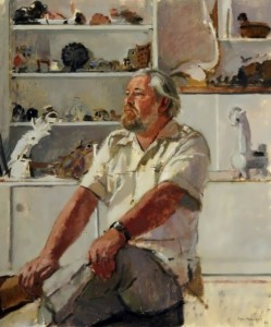 Gerald Durrell (1925–1995) by Ken Howard