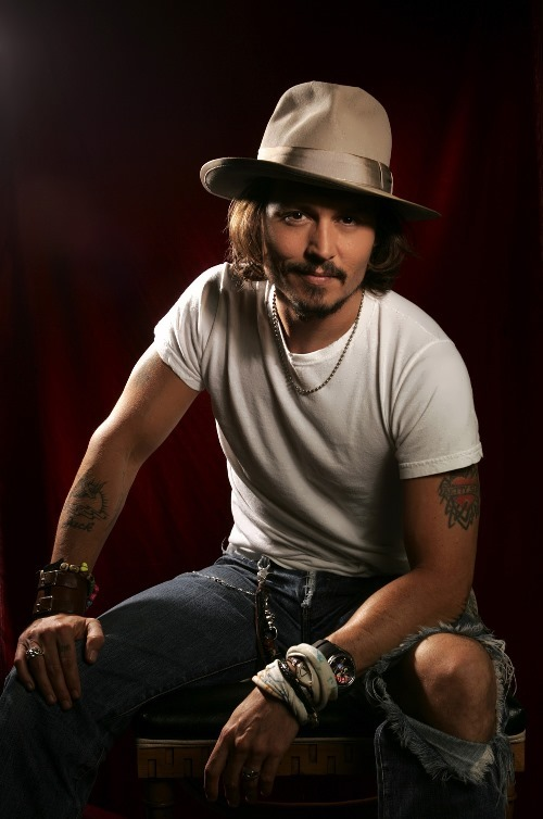 Depp – handsome actor