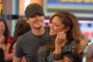 Orlando and Vanessa Minnillo