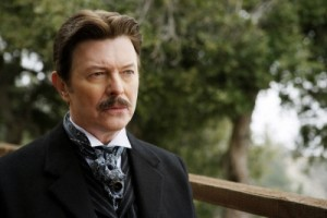 Bowie in the film The Prestige (2006)