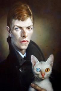 Sebastian Krüger. Portrait of David Bowie. 2007