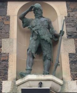 Monument to Alexander Selkirk